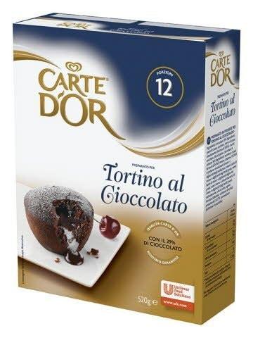 CARTE D'OR Десерт Шоколадный фондан Сухая смесь (520г) -