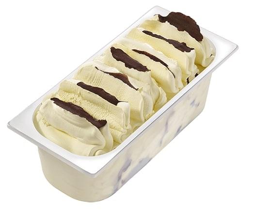 Carte D'Or Замороженный десерт Банановый Сплит (2800 г) - Содержит банановое пюре и шоколадную глазурь