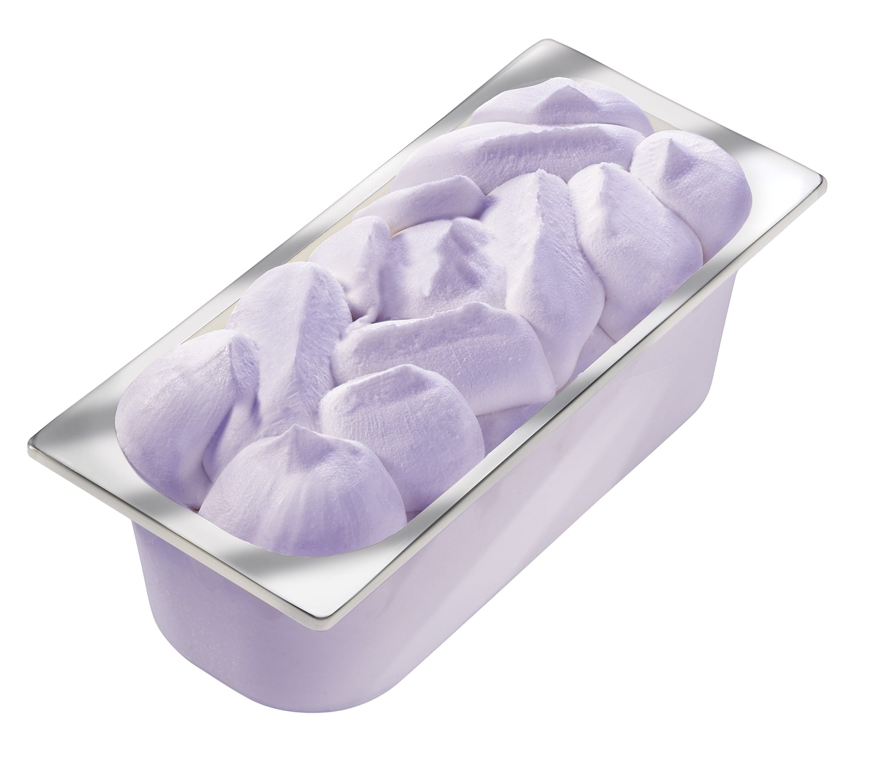 Carte D'Or Замороженный десерт Лаванда-ежевика (3000 г) - Изысканный лавандовый десерт с нежным пюре ежевики.