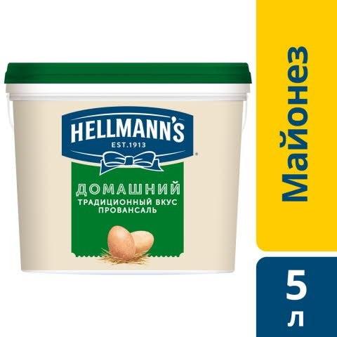 HELLMANN'S Майонез Домашний (5л) - Мне нужен майонез стабильный в блюдах на линии раздачи.