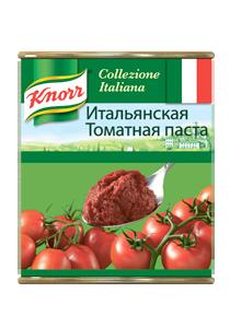 KNORR Консервы Итальянская томатная паста (800г) - Итальянская томатная паста KNORR – всегда густая консистенция и насыщенный цвет.