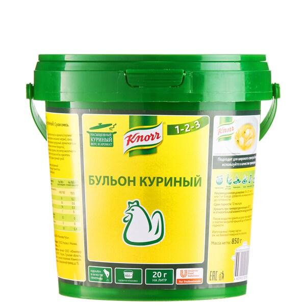 KNORR PROFESSIONAL Бульон куриный Сухая смесь (850г) - Бульоны KNORR придадут Вашим блюдам насыщенный вкус и аромат.