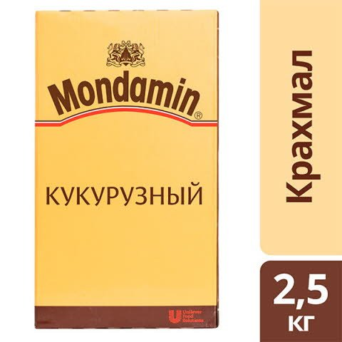 MONDAMIN Кукурузный крахмал (2,5кг) -