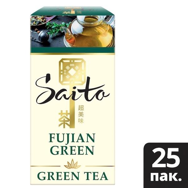 SAITO чай зеленый в сашетах Fujian Green (25шт) - Чайная церемония – особый ритуал, который помогает не только насладиться вкусом чая, но и изменить качество восприятия мира вокруг. Открываются чувства, пробуждаются мысли, и мы начинаем замечать больше деталей.